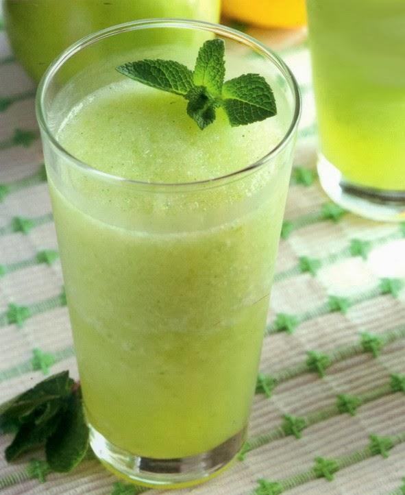 Sorbete de lim n y manzana - Sorbete de manzana verde ...