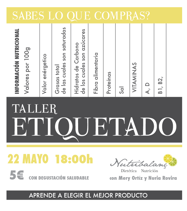 Taller etiquetado-nutribalanc-mayo-castellon